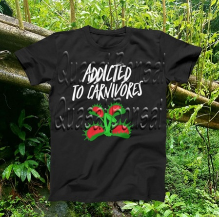 PAID (javaliz59 ) Carnivorous plant t-shirt! Pick 1 from 4 designs!-addictedtocarnivors-jpg