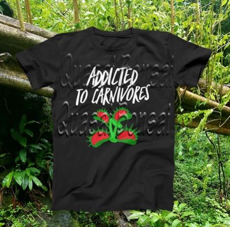 PAID (javaliz59 ) Carnivorous plant t-shirt! Pick 1 from 4 designs!-addictedtocarnivors-jpg