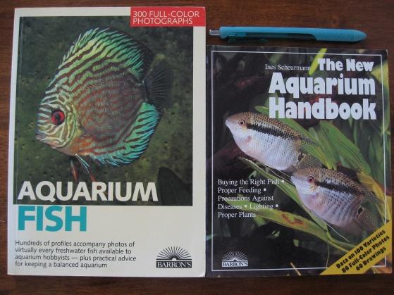 **PAID**(Dalton ) The New Aquarium Handbook & Aquarium Fish (Books)-fish-jpg
