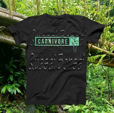 PAID (javaliz59 ) Carnivorous plant t-shirt! Pick 1 from 4 designs!-sarraceniacarnivore-jpg